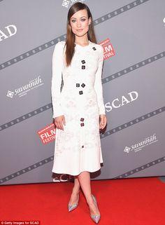Olivia Wilde accepts Spotlight Award at Savannah Film Festival #dailymail