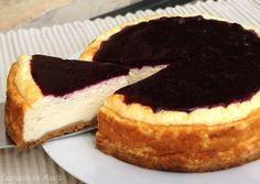 Cocinando en Marte: Tarta de queso al horno {ligera}