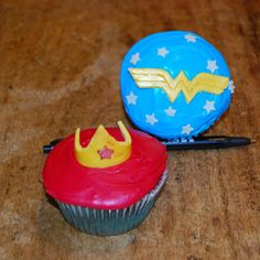 super hero cupcakes   Tumblr