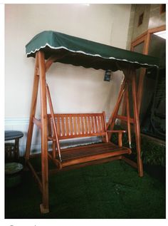 Woodwork Swinging chair for relax and fun