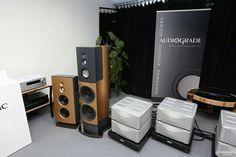 Audiograde Colaro  speakers and  Esoteric Grandioso monobloc amplifiers