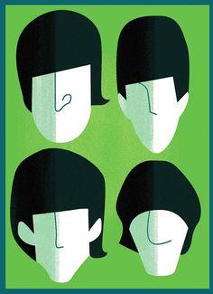 The Beatles by Francisco Javier Olea