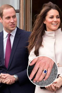 Have you seen Kate Middleton's engagement ring? The 18-carat sapphire diamond formerly belonged to the late Princess Diana