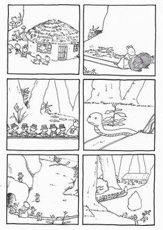 """""""le train des souris"""" de Haruo Yamashita et Kazuo Iwamura : images séquentielles - dis bonjour au soleil"""