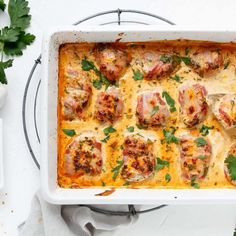Pork fillet with bacon in curry cream - easy to Schweinefilet mit Bacon in Currysahne – emmikochteinfach Pork fillet with bacon in curry cream – emmi simply cooks - Grilled Chicken Recipes, Chicken Wing Recipes, Pork Recipes, Healthy Recipes, Bacon, Pork Fillet, Lard, Rabbit Food, Filets