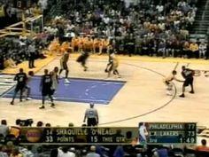 2001 NBA Finals: Sixers at Lakers, Gm 1 part 9/14