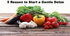 5 Reasons to Start a Gentle Detox   savorylotus.com ...▧☞[Note to self→ look up info on this]