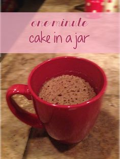 Endlessly Beloved: one-minute cake for one!