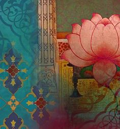 Lotus Dream - Art Print Detail