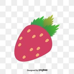 Strawberry Flower, Vector Hand, Hand Painted, Flowers, Design, Royal Icing Flowers, Flower, Florals