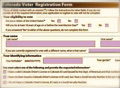 Va Org Mailing Voter Registration Forms Based On Partisan Firm