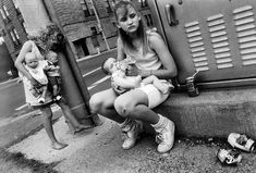 """ Jennifer, Tiffany, and Carrie,Portsmouth, Ohio, 1989. - Mary Ellen Mark. """