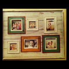 Rustic frame love! <3