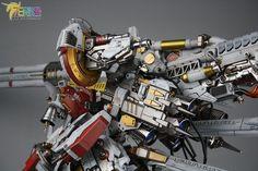 1/100 PROJ-0033 Tiefsturmer [Deep Striker] - Painted Build     Modeled by chevalier1988