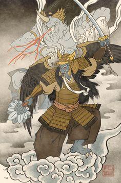 Ukiyo-e Goldar - MMPR Comic Variant Cover by swadeart on DeviantArt