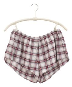 Crinkle Plaid Shyla Short