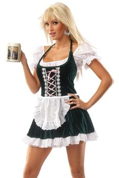 Beer Girl Costume - Halloween Costume