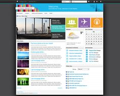 Intranet With The Claromentis Design Gallery Best Intranet Designs