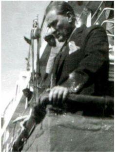 14 Eylül 1928 de ikinci kez Samsun yolunda. Bu kez muzaffer bir komutan, bir milletin makus talihini yenen adam olarak.