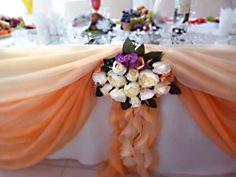 персиковая свадьба 2014