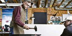 How to Make a Forge and Start Hammering Metal - How to Build a Forge - Blacksmith Forge