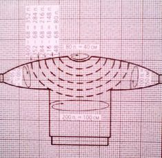 Circular Knitting: Circular pullover (sweater) with a yoke - Ketevan Kalatozishvili Diy Crafts Knitting, Easy Knitting, Loom Knitting, Knitting Stitches, Baby Mittens, Crochet Mittens, Crochet Baby, Vogue Knitting, Knitting