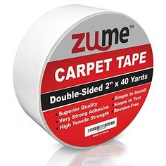 Intertape Polymer Group 9970 Indoor Carpet Tape 1.88-Inches x 36-Yard