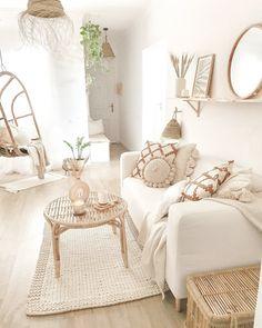 Home Room Design, Dream Home Design, Living Room Designs, Boho Living Room, Living Room Decor, Room Ideas Bedroom, Bedroom Decor, Room Interior, Interior Design