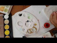 çiçek boyama teknikleri ders #4 - YouTube Watercolor Paintings, Youtube, Make It Yourself, Blog, Dyi, Istanbul, Watercolor Painting, Blogging, Water Colors