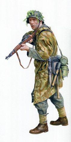 WEHRMACHT - Gefreiter del 919° Reggimento Grenadieren  a Montebourg, Francia…