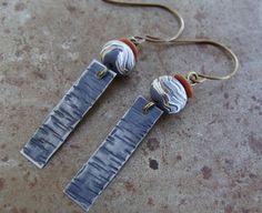 Birch Bark Earrings | Humblebeads Jewelry