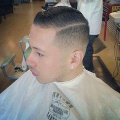 Skin Fade Comb Over Faux Hawk Mohawk Boy Haircuts