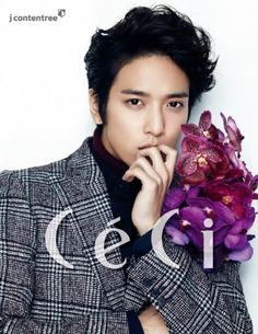 CNBLUE's Yonghwa is full of fan service in his pictorial and BTS clip for 'CeCi' | http://www.allkpop.com/article/2015/01/cnblues-yonghwa-is-full-of-fan-service-in-his-pictorial-and-bts-clip-for-ceci