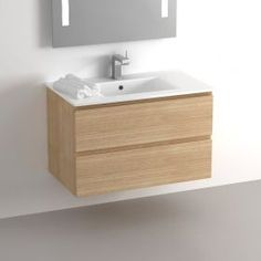 1000 ideas about plan salle de bain on pinterest salle for Meuble salle de bain 80 cm bois