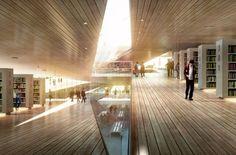 Proposta vencedora para Nova Biblioteca Central em Berlim / Envés Arquitectos