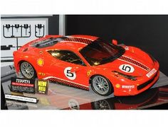 The Ferrari 458 Challenge is a circuit car which made its debut in 2009. Based on the 458 Italia, it is seen as the successor to the F430.    This exciting machine is the first 1/10 scale subject to appear on the newly-designed TT-02 chassis. The TT-02 chassis is a 4WD entry level machine designed for easy assembly and high durability.