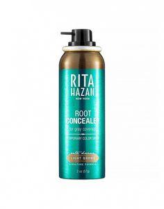 Easy-to-use hairspray // Root Concealer by Rita Hazan Blonde Hair Tips, Corporate Women, Blusher, Facial Skin Care, Skin Makeup, Pretty Face, Hair Hacks, Concealer, Natural Hair Styles