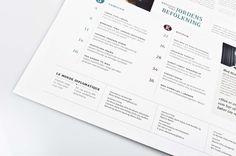 Newpaper – Le Monde Diplomatique by Hanna Elise Haugerød, via Behance