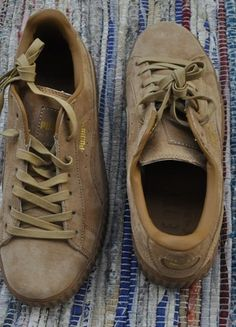 Kup mój przedmiot na #vintedpl http://www.vinted.pl/damskie-obuwie/trampki/21120116-nowe-buty-puma-by-rihanna-suede-creepers-bezowe