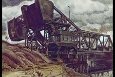 Charles Burchfield, Black Iron, 1935