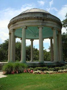 VDK temple concept. NOLA City Park bandstand.