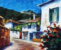 HOUSE ON THE HILL - PALETTE KNIFE Oil Painting On Canvas By Leonid Afremov http://afremov.com/HOUSE-ON-THE-HILL-PALETTE-KNIFE-Oil-Painting-On-Canvas-By-Leonid-Afremov-Size-20-x24.html?bid=1&partner=20921&utm_medium=/vpin&utm_campaign=v-ADD-YOUR&utm_source=s-vpin