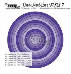Wykrojnik CREAlies - CLNestXXL07