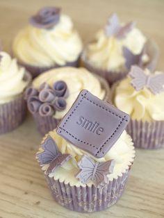 Smile Cupcakes