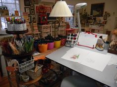 Mary Engelbreit studio (more pics of it on her website)
