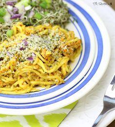 The Rawtarian: Raw asian noodle salad recipe