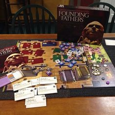#History #Game of the Week — Founding Fathers. Great game for learning about the #Constitution and fun facts about the United States Founding Fathers.