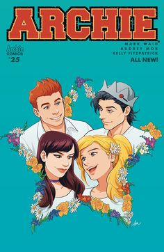 Archie #25 Cvr A Audrey Mok Betty Cooper, Free Books, Good Books, Archie Comics Riverdale, Betty & Veronica, Mark Waid, Josie And The Pussycats, Comic Book Covers, Comic Books