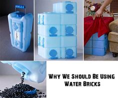 Why We Should Be Using Water Bricks For Storage - SHTF Preparedness