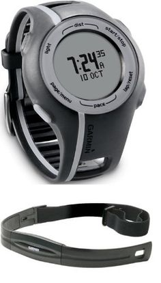 82fb1d4e94d Garmin Forerunner 110 GPS-Enabled Sport Watch with Heart Rate Monitor (Black)